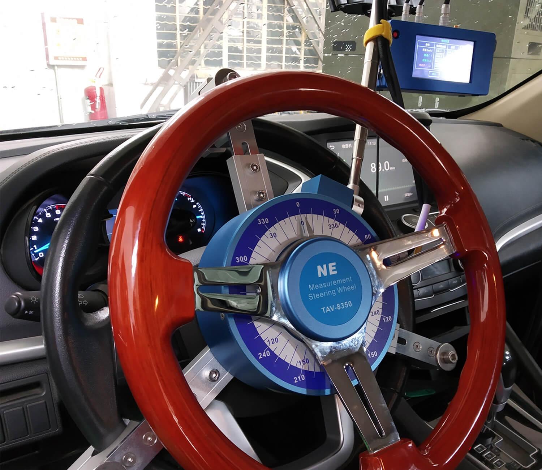 测力方向盘转向力角检测仪应用场景