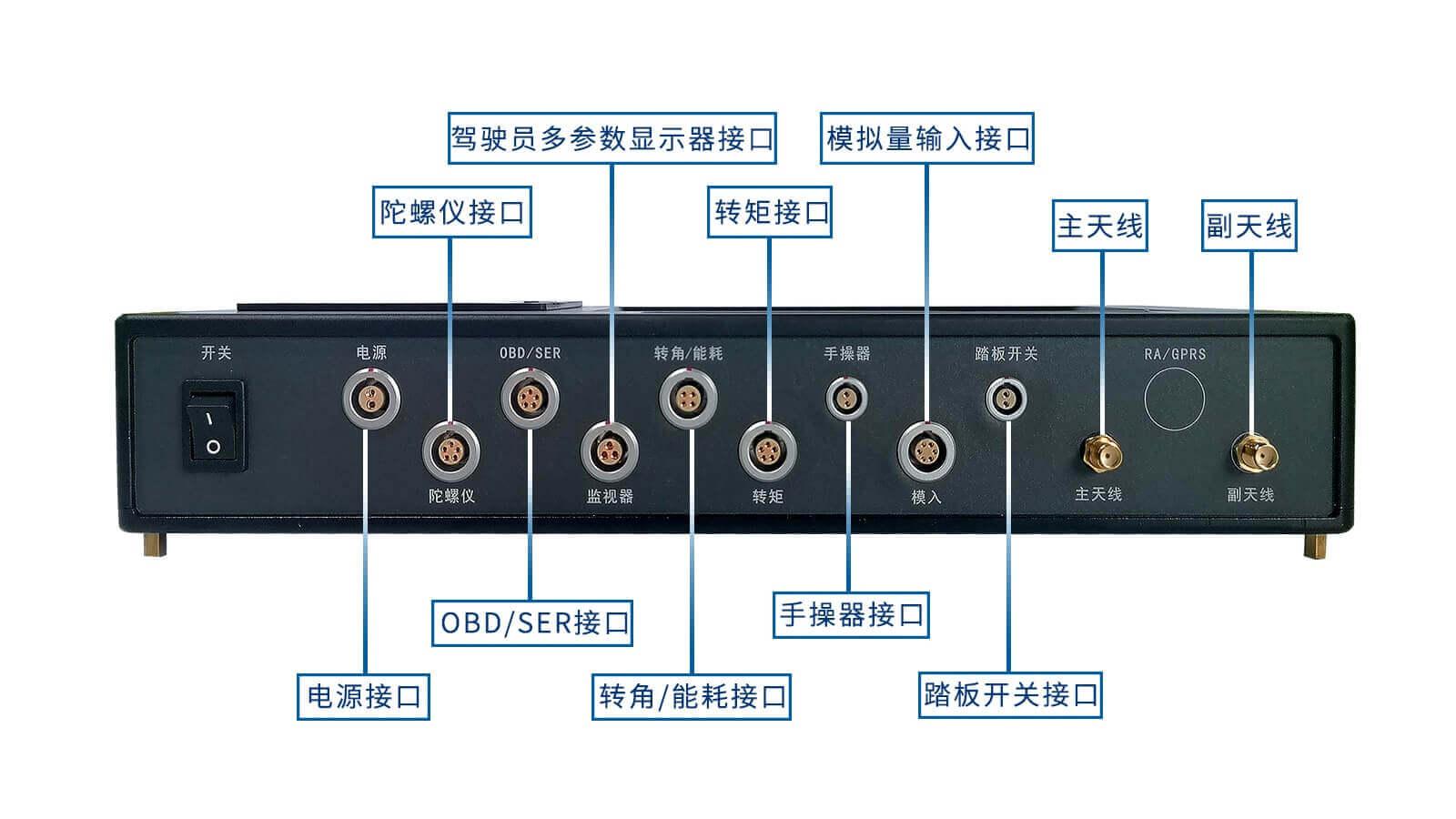 VEM-7R双天线RTK输入输出接口