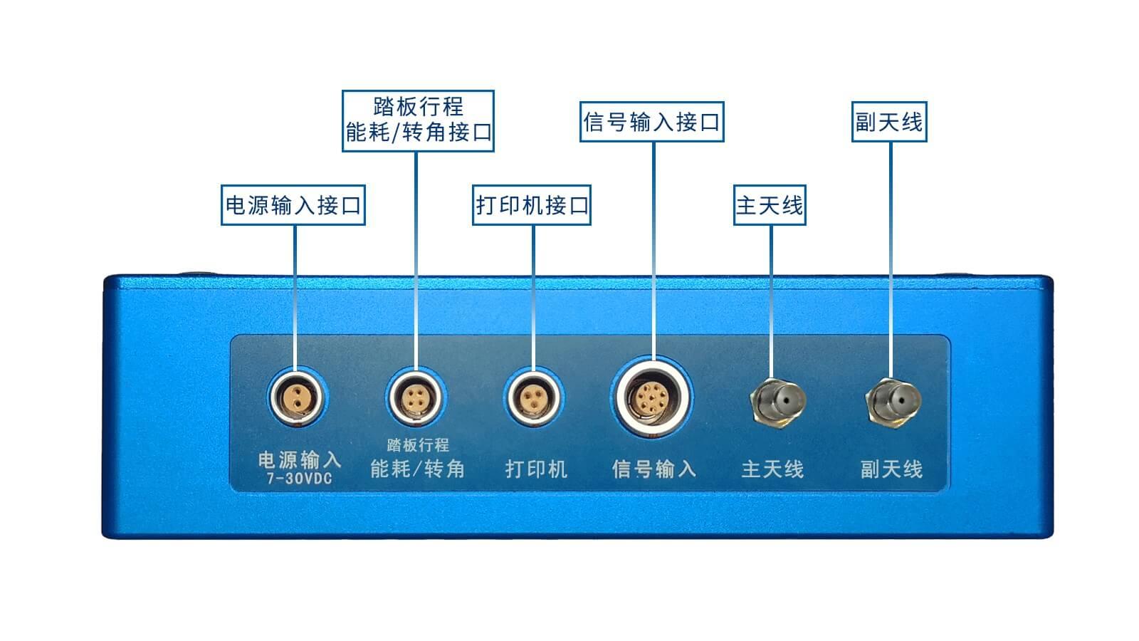 VEM-5R双天线RTK输入输出接口